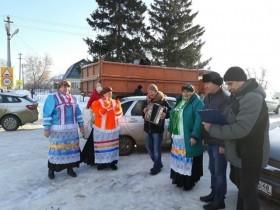 Сегодня 8 февраля областная ярмарка радовала жителей с. Каликино.